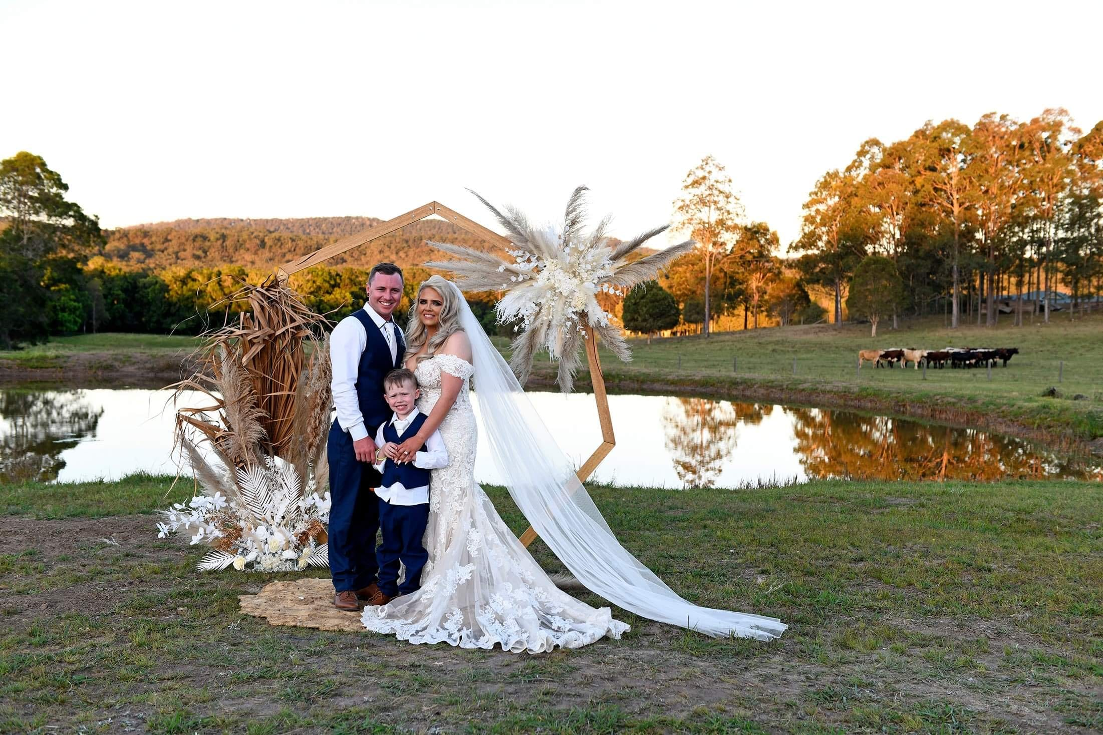 Weddings don't always need to be indoors! Talk to Wedfest about setting up the festival feel wedding.