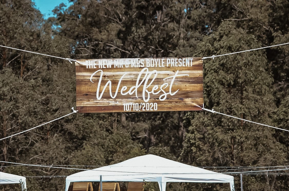 With Wedfest, it's all about you!